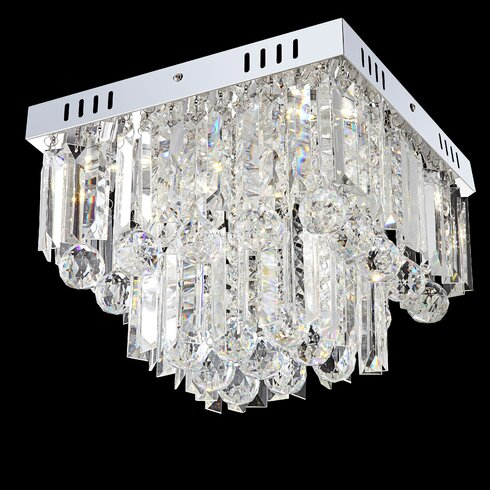 6 Light Flush Ceiling Light