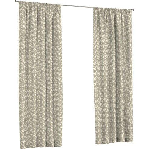Flower Single Curtain Panel