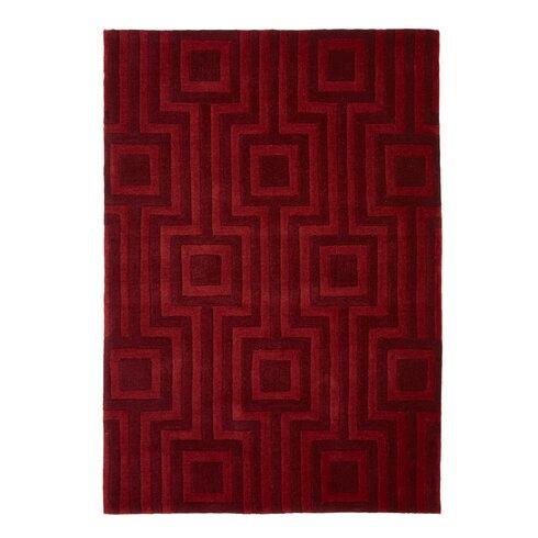 Origin Hand Tufted Red Rug