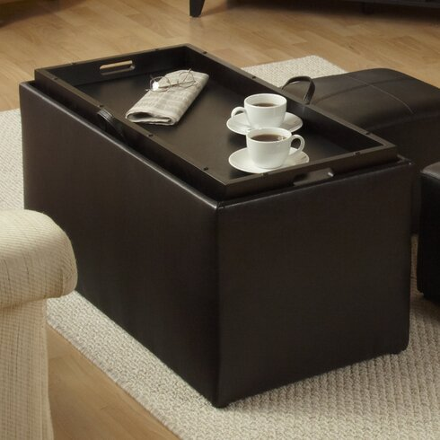 QUICK VIEW. Marla 3 Piece Storage Ottoman Set - Rectangle Ottomans & Poufs You'll Love Wayfair