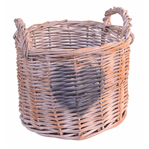 Willow Basket with Heart