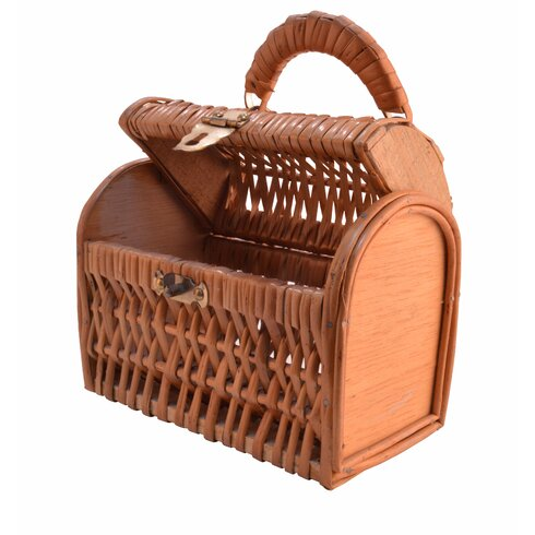 Willow Basket with Cover