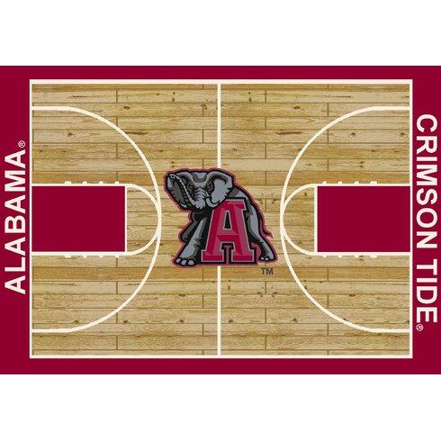College Court NCAA Alabama Novelty Rug