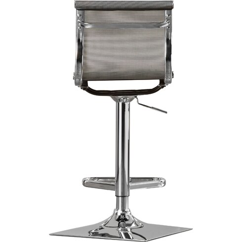 Latitude Run Emmaline Adjustable Height Swivel Bar Stool