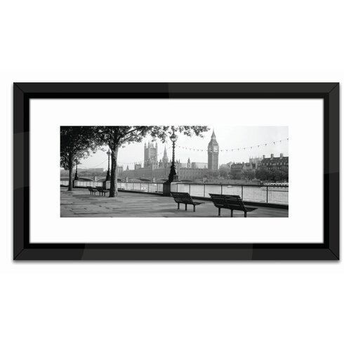 Studio Thames, Big Ben, London Framed Photographic Print
