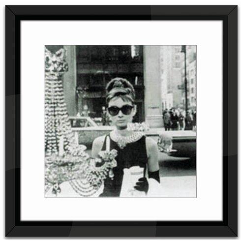 Shopping at Tiffany's Framed Photographic Print