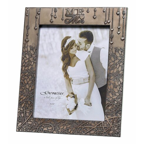Mr & Mrs Wedding Picture Frame