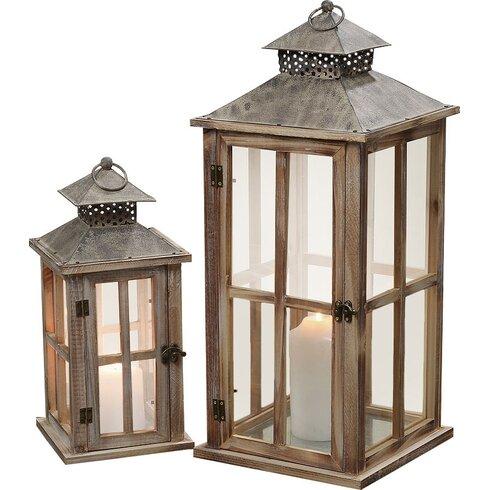 Bayfield 2 Piece Lantern Set
