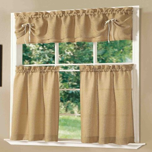 Dainty Home Lucia Kitchen Valance and Tier Set Reviews