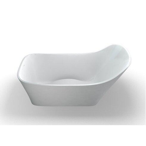 Nebbia 160cm x 80cm Freestanding Soaking Bathtub