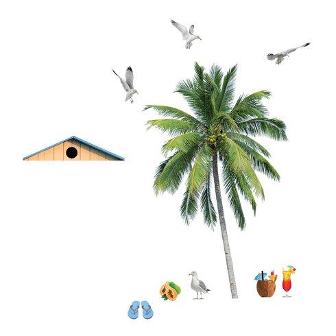 Wallpops Home Decor Line Summer Palm Wall Decal Wayfair