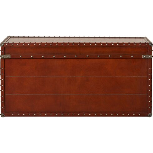 QUICK VIEW. Perth Trunk Coffee Table - Decorative Trunks You'll Love Wayfair