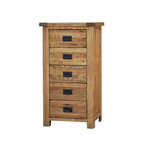 Auckland 5 Drawer Chest of Drawers