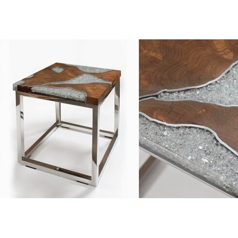 Annatto Cusse Side Table
