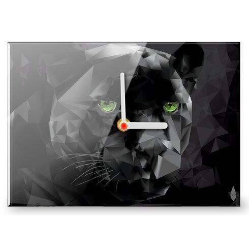 Polygon Panther Clock