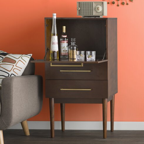 Gardner Bar With Wine Storage Reviews Allmodern