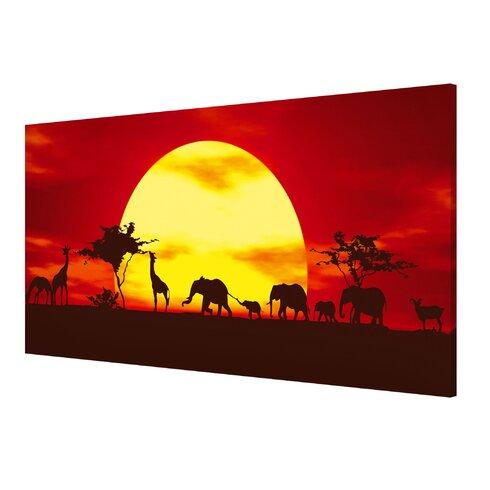Magnettafel Sunset Caravan