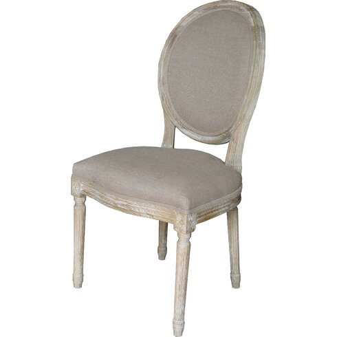 The Bella Collection Louis Side Chair Amp Reviews Wayfair