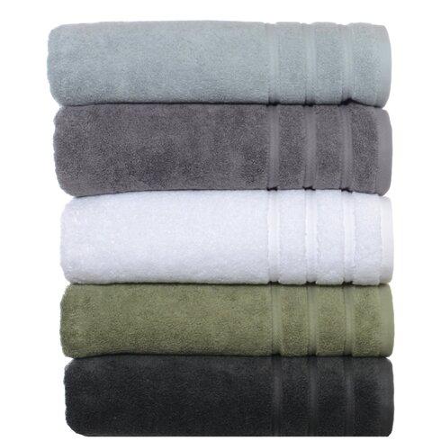 vera twill stripe 3 piece bath towel set reviews wayfair