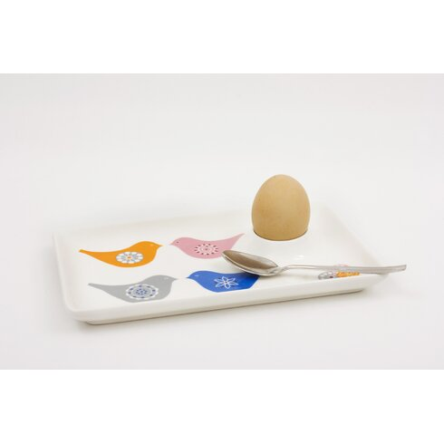 Love Birds Egg Plate