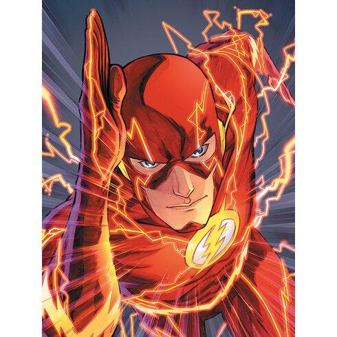 The Flash Canvas Wall Art