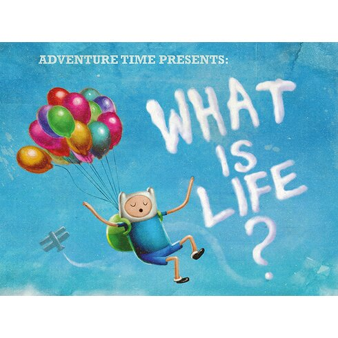 What Is Life Canvas Wall Art