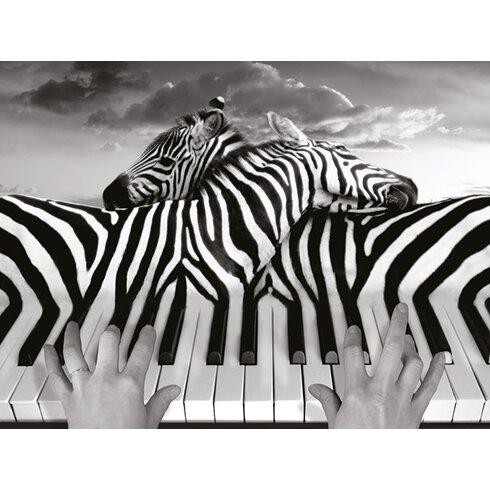 Piano Peace - Thomas Barbey Canvas Wall Art