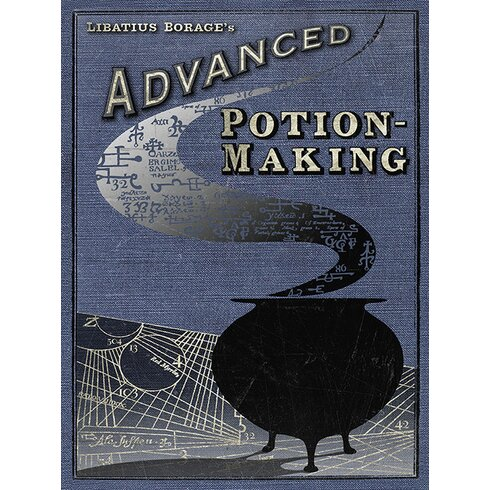 Harry Potter - Potion Making Vintage Advertisement Canvas Wall Art