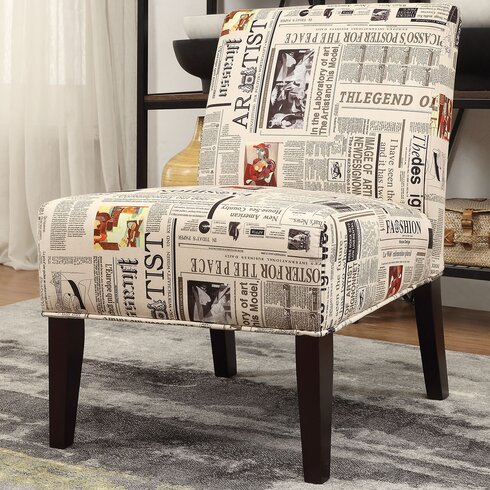 A J Homes Studio Benjamin Slipper Chair Reviews