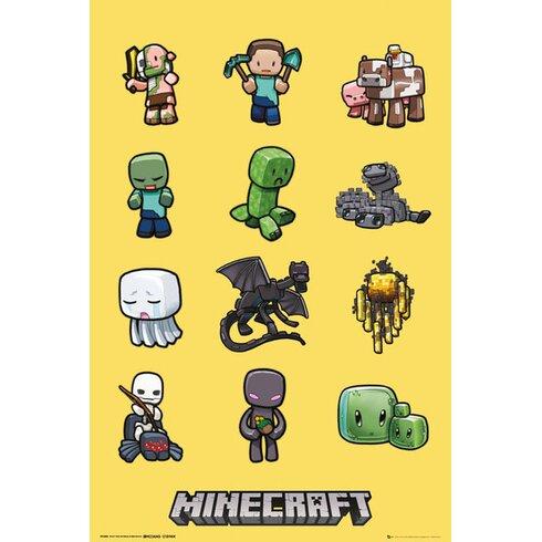 Minecraft Graphic Art Plaque