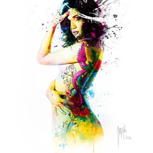"""Kunstdruck """"I was an Angel"""" von Patrice Murciano"""