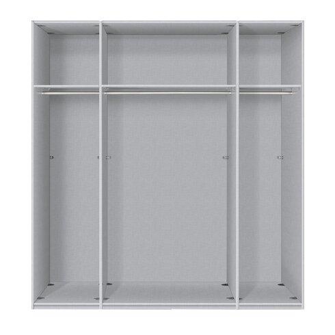Drehtürenschrank Brooklyn, 236 cm H x 200 cm B x 58 cm T