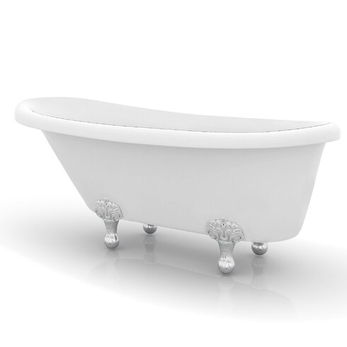 Ancona Monroe 67 X 26 3 Claw Foot Bathtub Wayfair