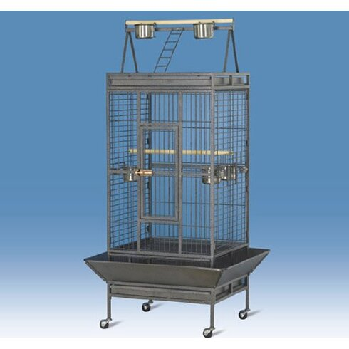 Pawhut Parrot Aviary Coop Wire Mesh Bird Breeding Cage