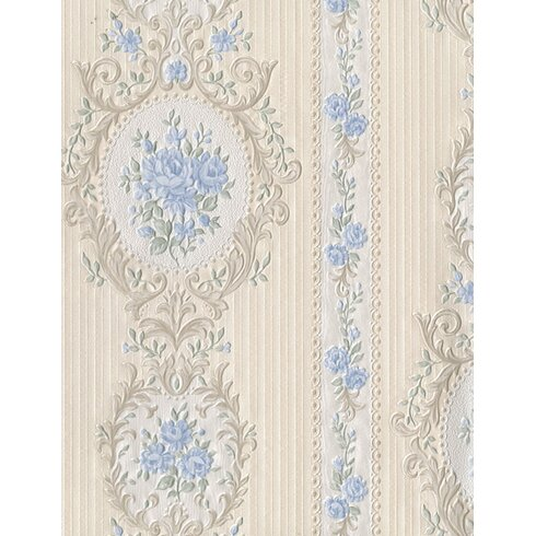 Beatrice 10m L x 53cm W Floral and Botanical Roll Wallpaper
