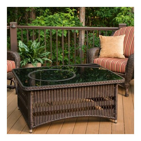 Naples Coffee Table with Fire Pit - The Outdoor GreatRoom Company Naples Coffee Table With Fire Pit