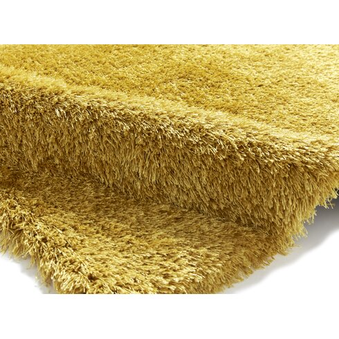 Monte Carlo Hand-Tufted Yellow Area Rug