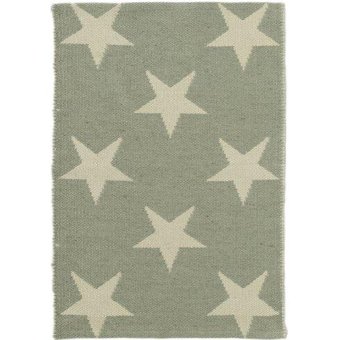 Star Green/Ivory Indoor/Outdoor Area Rug