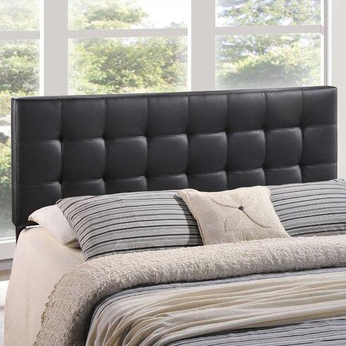 zipcode design francis upholstered panel headboard  reviews  wayfair, Headboard designs