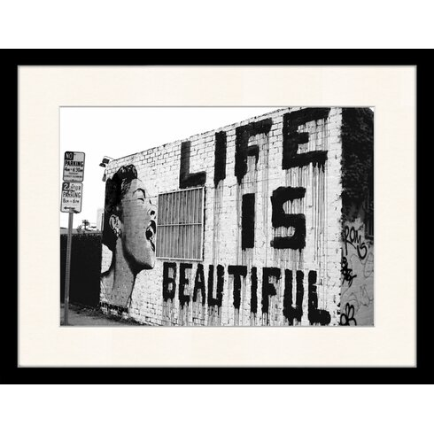 Life is Beautiful Framed Photographic Print