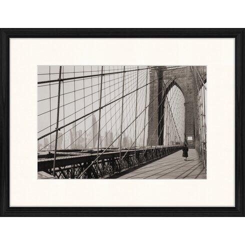 Classic Brooklyn Bridge 1 Framed Photographic Print