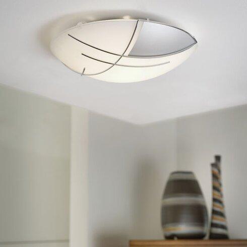Raya 1 Light Flush Ceiling Light
