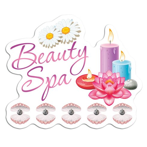 Garderobenhaken Beauty Spa