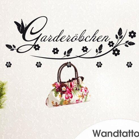 Garderobenhaken Blumen