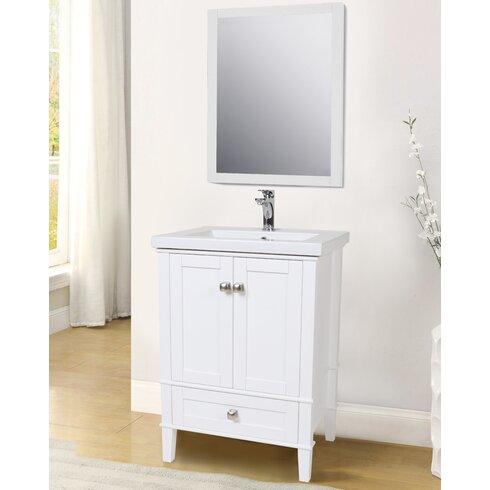 Elegant Lighting Danville 24 Single Bathroom Vanity Set Reviews Wayfair Supply
