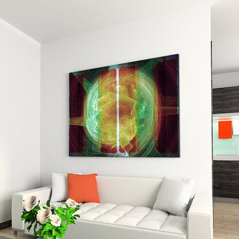 Enigma Abstrakt 1292 Painting Print on Canvas