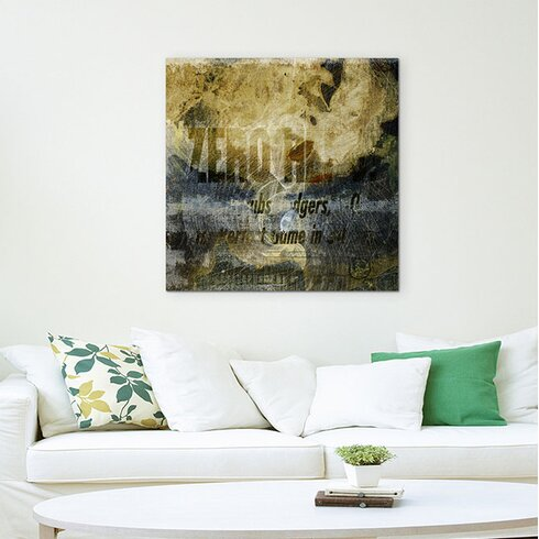 Enigma Abstrakt 1031 Painting Print on Canvas