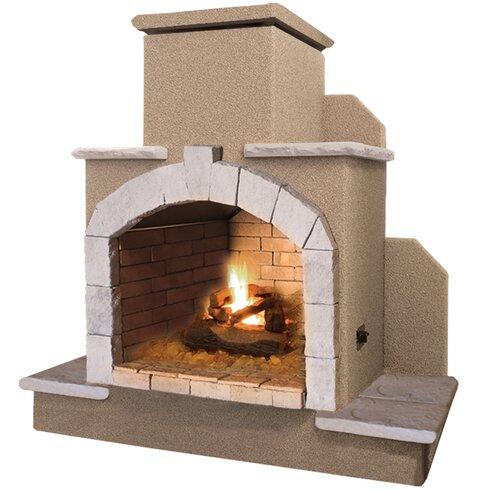 CalFlame Propane Gas Outdoor Fireplace