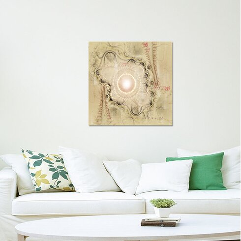 Abstract 405 Enigma Framed Graphic Print on Canvas