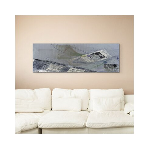Enigma Panorama Abstrakt 1413 Framed Graphic Print on Canvas